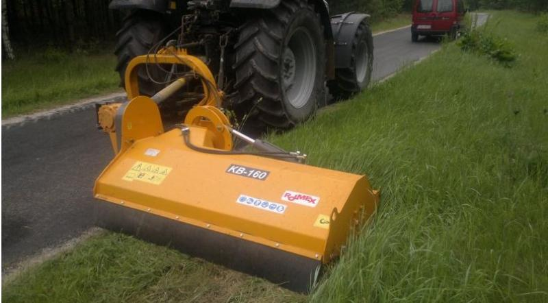 Flail mower KB<br/>Offset / in-line mulcher for grass