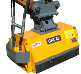 Flail mower Mini-Excavator GKL